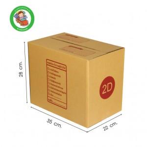 กล่อง ขนาด 2D